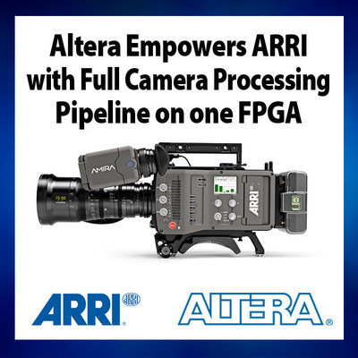 Altera Stratix V and Enpirion PowerSoC enable ARRI's new AMIRA documentary camera (PRNewsFoto/Altera Corporation)