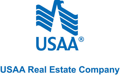 USAA Real Estate Company logo. (PRNewsFoto/USAA Real Estate Company)