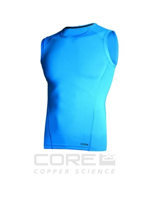 Watson's, a maker of premium thermal bodywear and cold weather base layers, is introducing its Core 29 line of copper-based active wear including muscle shirts (like the one pictured above), tank tops, t-shirts and other undergarments. Copper is known for natural healing, anti-odor and anti-bacterial properties. (PRNewsFoto/Watson's)