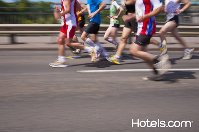 Hotels.com offers marathon runners a guide to the best times to book hotel rooms