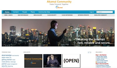 New self-service Akamai Community uses market-leading JiveX solution to promote best practices in online content delivery