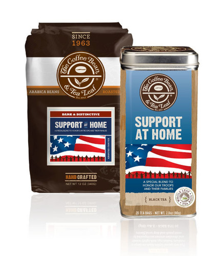 The Coffee Bean and Tea Leaf Support At Home Coffee and Tea Tin (PRNewsFoto/The Coffee Bean & Tea Leaf) ...