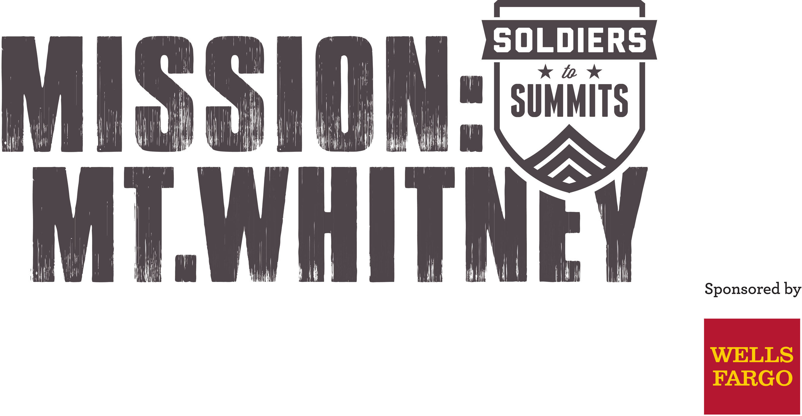"""Soldiers to Summits, Wells Fargo Announce Mt. Whitney Expedition for Wounded Veterans; Now Accepting Applications, Nominations -- Seeking Soldiers, Veterans """"Desiring to Overcome Barriers."""" (PRNewsFoto/Soldiers to Summits) (PRNewsFoto/SOLDIERS TO SUMMITS)"""