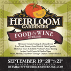 Taste the bounty of fall in Dayton, WA September 19 - 21 during the Heirloom Gardeners Food & Wine Weekend.  Heirloom Tomato Tasting and Dinner, Garden Tours, Live Music, and Artisan Food & Beverage Tastings in this nostalgic farm town nestled in the foothills of the Blue Mountains. (PRNewsFoto/Port of Columbia)