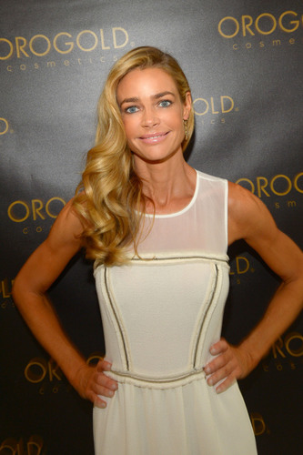 Denise Richards named the new spokesperson of OROGOLD Cosmetics.  (PRNewsFoto/OROGOLD Cosmetics)