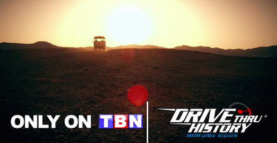 'Drive Thru History: The Gospels' Premieres This Week -- Exclusively on TBN
