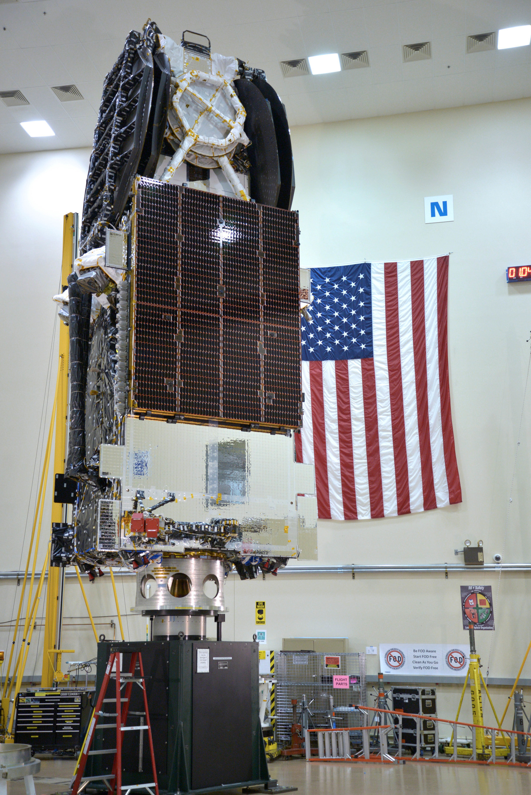 SSL delivers high performance broadband satellite to launch base, demonstrates leadership in