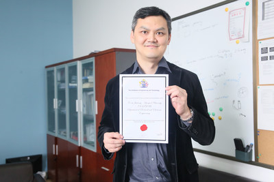 Professor Eng Gee Lim, Head of the Department of Electric and Electronic Engineering, proud of the accreditation by The Institute of Engineering and Technology