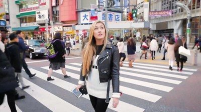 "Host LaurDIY explores Tokyo for ""Destination: Disney Style"""