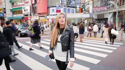 "Host LaurDIY explores Tokyo for ""Destination: Disney Style"""