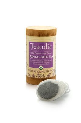 Award winning Teatulia Jasmine Green Tea.  (PRNewsFoto/Teatulia Organic Teas)