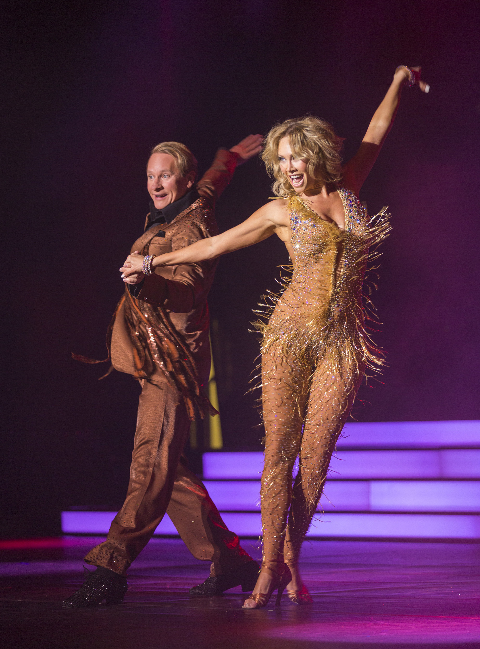 """The special """"Dancing with the Stars: At Sea"""" theme sailings also will feature television personality Carson Kressley and """"Dancing with the Stars"""" professional dancer and two-time Mirrorball Trophy winner Kym Johnson who is hot off the current season of the hit ABC television show."""