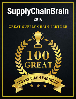 "Purolator International Named a ""2016 Great Supply Chain Partner"" By SupplyChainBrain Magazine"