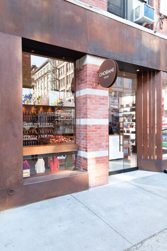 Chobani, maker of America's No.1-selling Greek Yogurt brand, reopens its signature cafe, Chobani SoHo(R), ...
