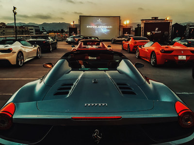 Fave Night - Hublot MP-05 LaFerrari Sapphire animated movie in Los Angeles (PRNewsFoto/Hublot SA)