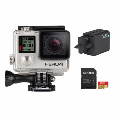 GoPro HERO4 Essentials Camera Bundle (PRNewsFoto/BJ's Wholesale Club)