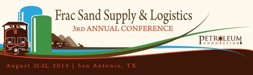 The 3rd Annual Frac Sand Supply & Logistics Conference  (PRNewsFoto/The Petroleum Connection)