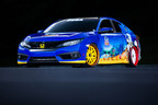 "Honda Debuts Custom-Designed ""Sonic Civic"" at Comic-Con; Joins ""Sonic the Hedgehog(TM)"" and SEGA(R) in Celebrating the Iconic Game's 25th Anniversary"
