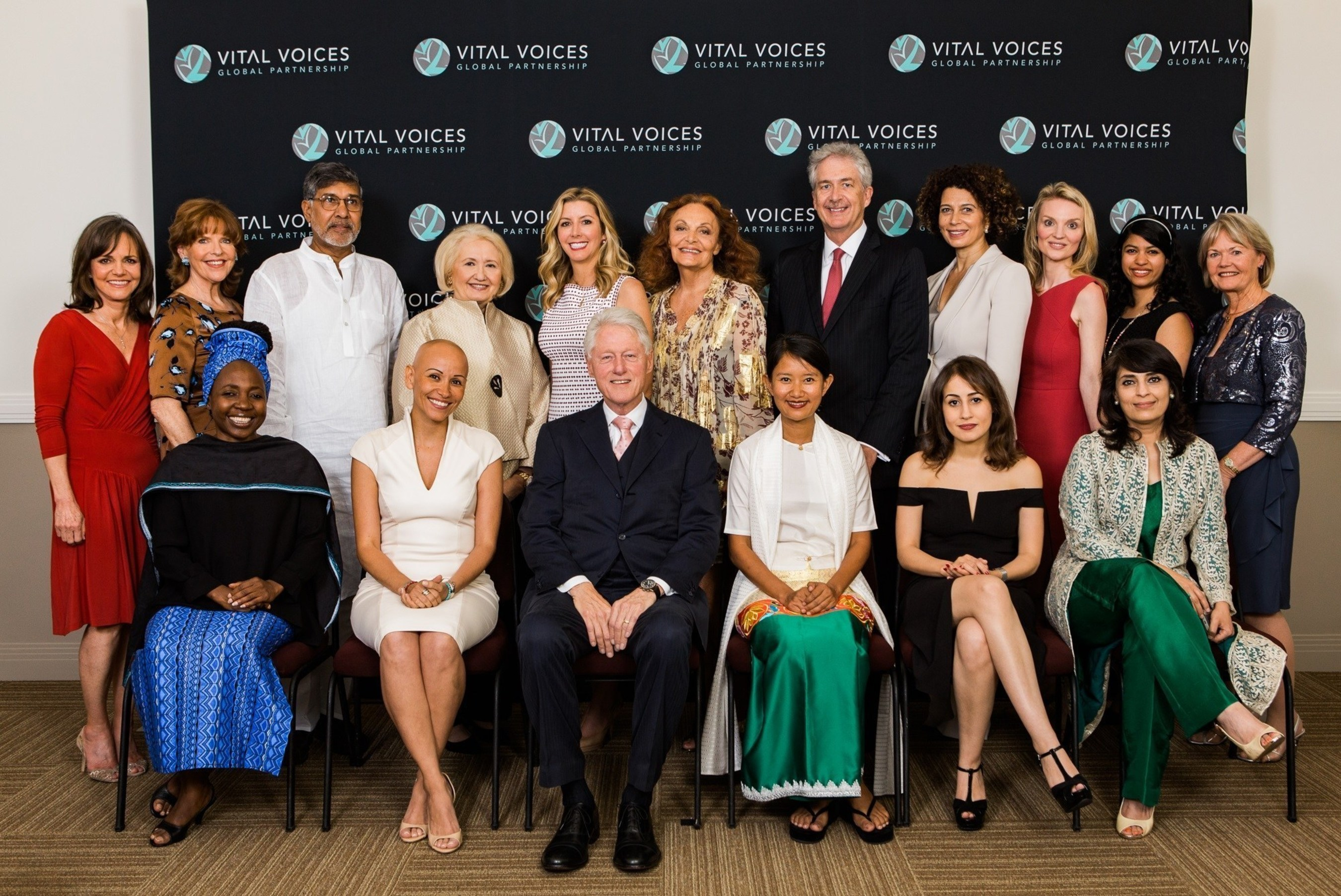 President Bill Clinton, Vital Voices Global Partnership Celebrate Groundbreaking Women from around the World