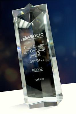 Fusionex announced as the Winner of The Most Outstanding ICT Company Award (PRNewsFoto/Fusionex)