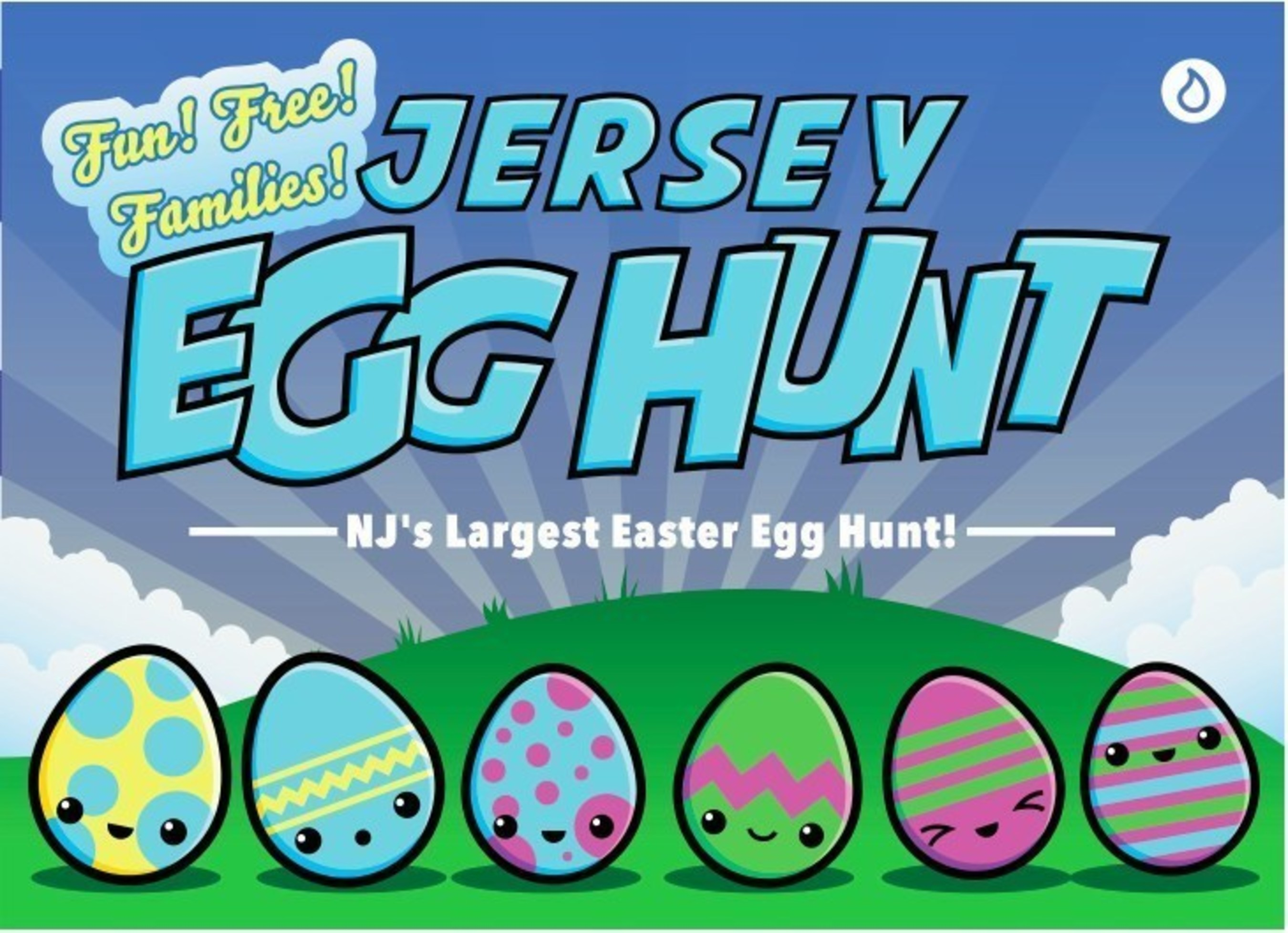 Liquid Church Is Hiding 100,000 Easter Eggs Across New Jersey For State's Largest Egg Hunt Ever