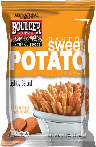 New Baked Sweet Potato Fries from Boulder Canyon Natural Foods brings on-trend spud snack to grocery aisle.  ...