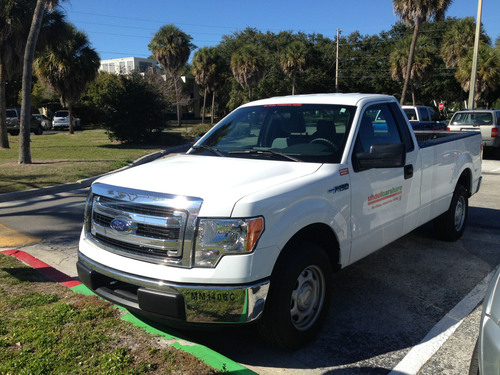 Eckerd College welcomes the addition of a new car to their growing UhaulCarShare fleet. (PRNewsFoto/UhaulCarShare) (PRNewsFoto/UHAULCARSHARE)