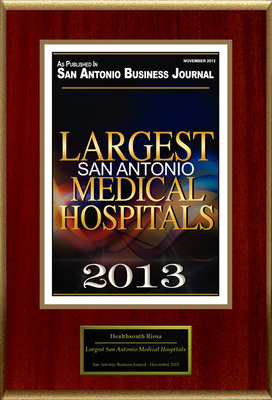 HEALTHSOUTH RIOSA Selected For ''Largest San Antonio Medical Hospitals''