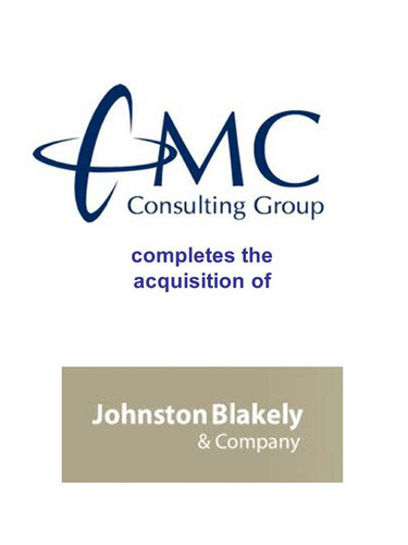 CMC Consulting Group Acquires Johnston Blakely & Company