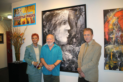 Artist Vicente Dopico-Lerner exhibits at the St. Thomas University Sardinas Gallery.  (PRNewsFoto/St. Thomas University)