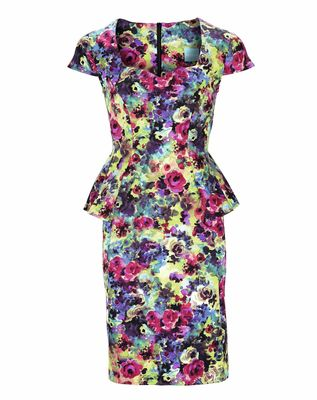 South Floral Peplum Dress, €60