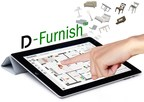 D-Furnish is a patent pending, mobile-compatible online software that considerably enhances a property's potential by allowing clients to envision their perfect living space. (PRNewsFoto/DIAKRIT International Ltd.)