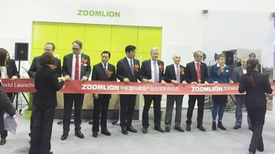 World launch ceremony for Zoomlion's high-end products