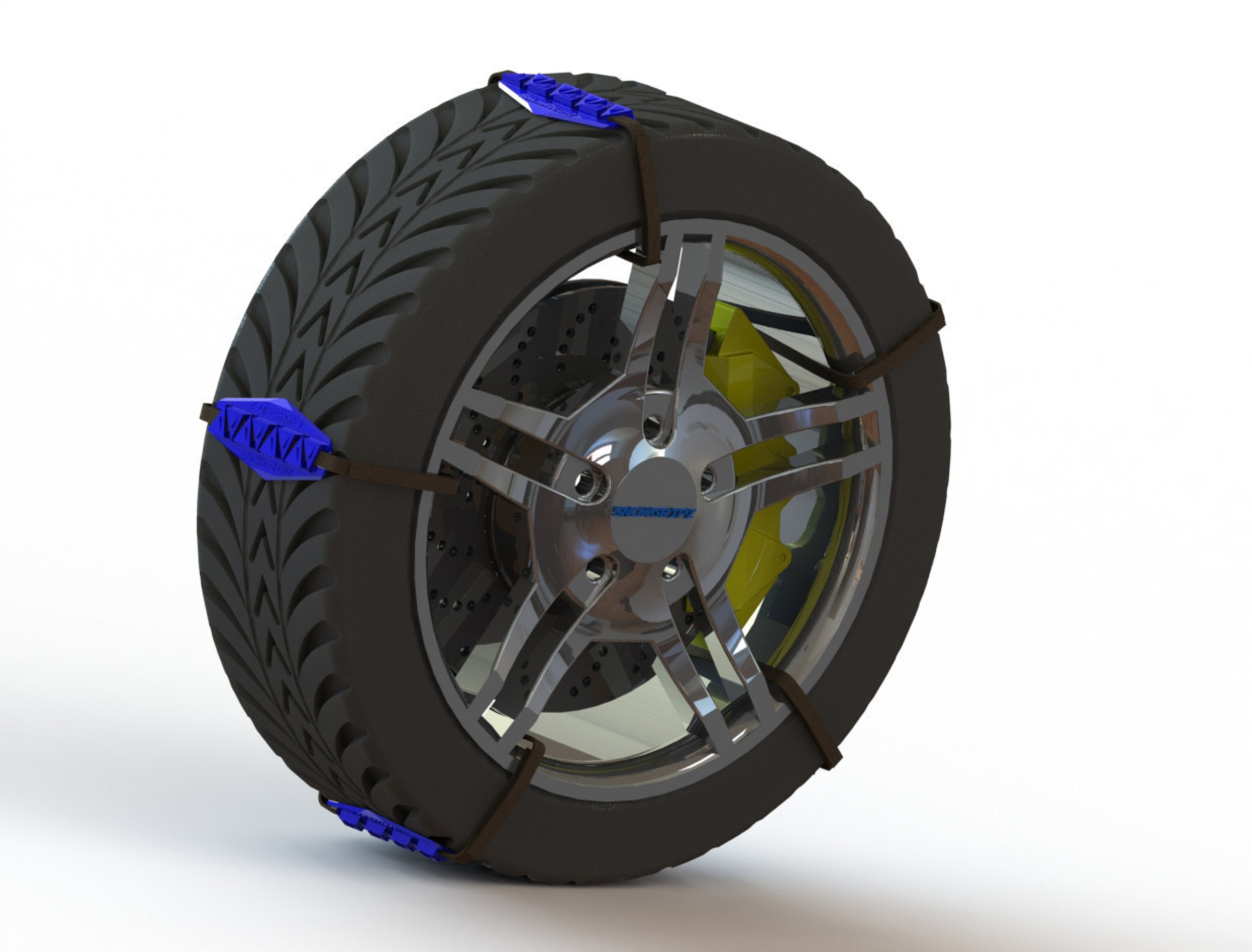 Hyper Industries Inc. Introduces SNOWGRIPZ™: A Revolutionary Tire Traction System for Safe Winter