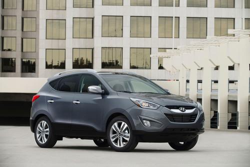 Refreshed 2014 Hyundai Tucson Ups Fun And Value Quotients.  (PRNewsFoto/Hyundai Motor America)