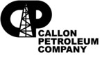 Callon Petroleum Company Logo (PRNewsFoto/Callon Petroleum Company)