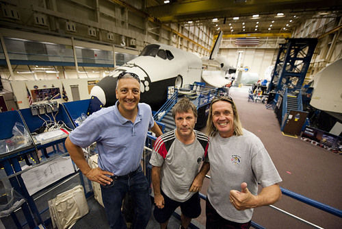 NASA and Astronaut Michael J. Massimino Invite Iron Maiden to Tour the Space Center in Houston