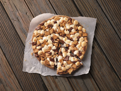 Pizza Hut, the pizza restaurant company that serves and delivers more pizzas and desserts than any other pizza company in the world, is making it easier than ever to savor the traditional campfire s'mores flavor, thanks to the new Hershey's Toasted S'mores Cookie, available for a limited time beginning May 23.