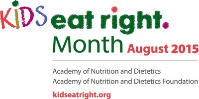 "Kids Eat Right Month focuses on the importance of healthful eating and active lifestyles for children and families, featuring expert advice from registered dietitian nutritionists to help families achieve the Kids Eat Right core principles: ""shop smart, cook healthy and eat right."" Learn more at www.kidseatright.org."