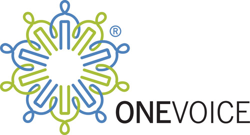 The OneVoice Movement Logo (PRNewsFoto/The OneVoice Movement) (PRNewsFoto/)