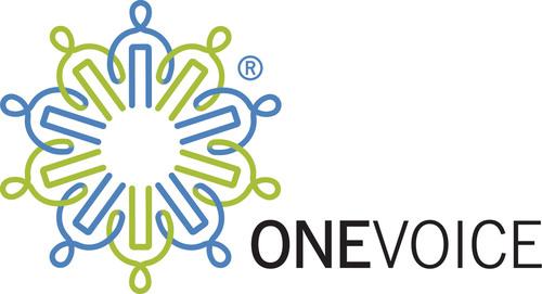 The OneVoice Movement Logo (PRNewsFoto/The OneVoice Movement) (PRNewsFoto/)