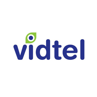 Vidtel Logo.  (PRNewsFoto/Vidtel)