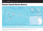 Pitcairn Islands Marine Reserve Map