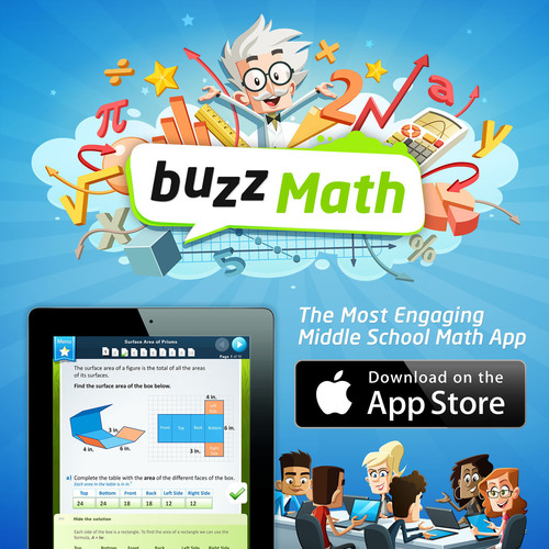 BuzzMath launches in App Store - a refreshingly high-quality math practice app for middle school