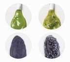 The Blend Quality Index (BQI) from Vitamix includes a variety of blends including tough ingredients like those found in green smoothies. On the top row are two green smoothies - the one on the left was made in a Vitamix and the one on the right in a competitor's machine. On the bottom, black beans were blended with water in a Vitamix (left) and competitor (right). Vitamix results were up to five times smoother than the competitor's in these tests, as validated by a third-party.