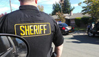 Sacramento County Sheriff's Department making one of many arrests in a county-wide sweep using Vigilant Solutions License Plate Recognition (LPR) technology and data.  (PRNewsFoto/Vigilant Solutions)