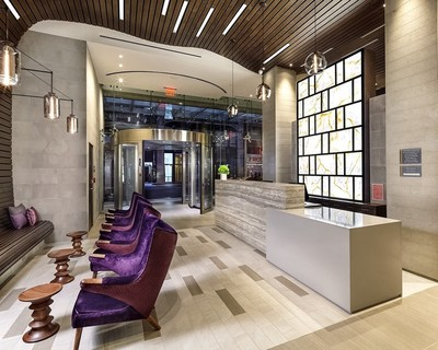 Lobby of the Cambria hotel & suites NY - Times Square