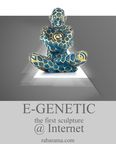 Vecchiato Art Galleries Presents E-GENETIC, a Sculpture by Renowned International Artist Rabarama
