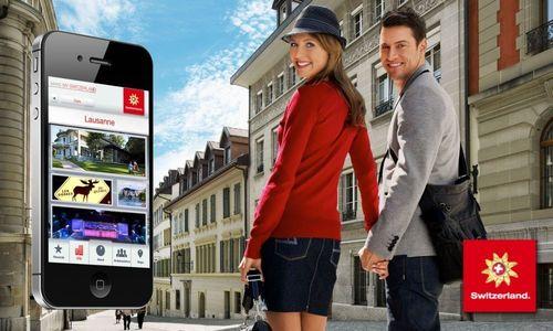 Make My Switzerland App (PRNewsFoto/Switzerland Tourism)