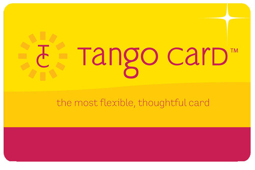 "Tango Card, the ""get exactly what you want"" gift card.  (PRNewsFoto/Tango Card)"